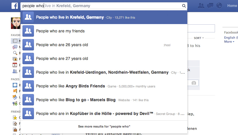 facebook-graph-seach