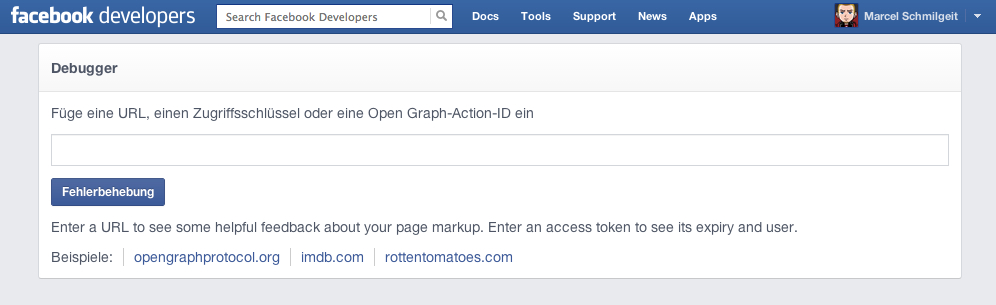 facebook-object-debugger