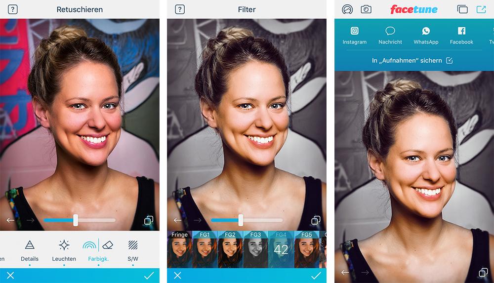 Facetune 2 Fur Ios Ist Da Selfie Tuning Mit Zahlreichen Neuerungen Und Neuem Preis Modell