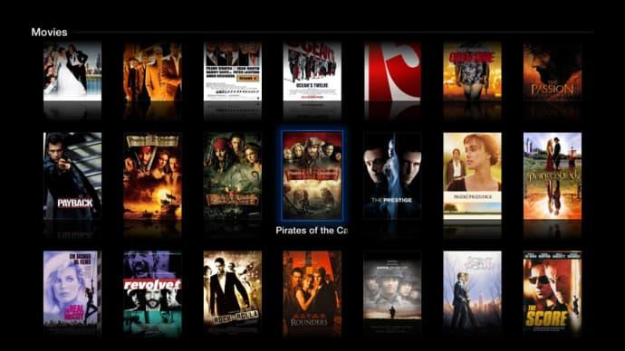 FireCore: aTV Flash black und der Media Player. Rockt.
