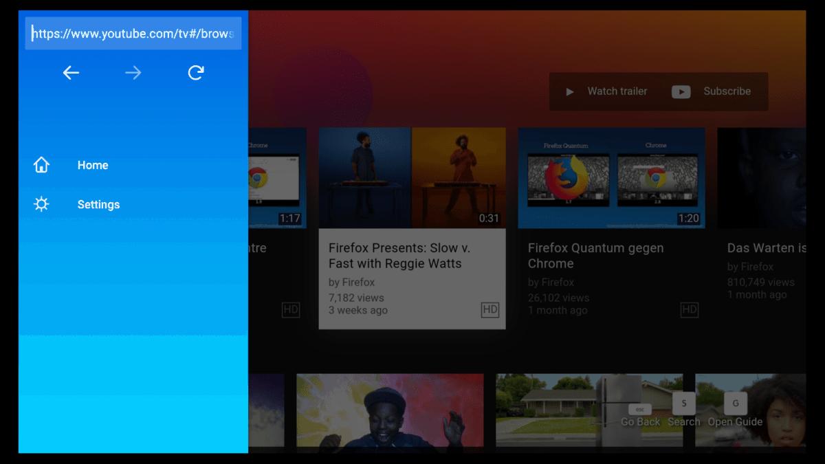 Firefox Auf Tv übertragen