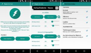Flash On Call & Notifi­cation: LED-Benachrichtung für Android