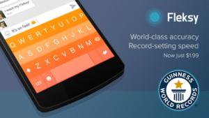 Flesky für iOS und Android: Neuer Rekord für die schnellste Tastatur, dauerhafte Preissenkung