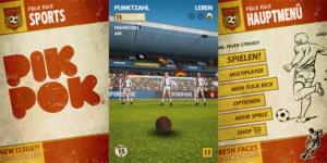 iOS App der Woche: Flick Kick Football derzeit kostenlos erhältlich