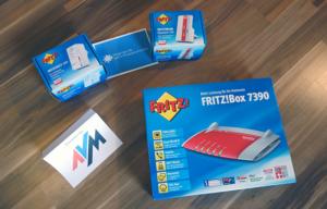 Geburtstagsgewinnspiel Tag 6 · Gewinne 1 von 3 Artikeln aus dem AVM-Paket: Fritz!Box Fon 7390, Fritz!WLAN Repeater 310 und Fritz!Dect 200
