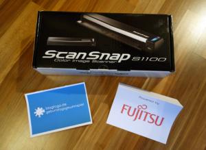 Geburtstagsgewinnspiel Tag 7 · Dokumentenscanner ScanSnap 1100 von Fujitsu