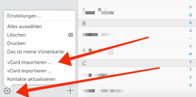 Google Kontakte Zu Icloud Kontakte Importieren Und Umgekehrt