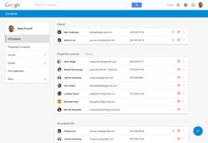 """Überfällig: Google präsentiert """"neue"""" Kontakt-Verwaltung für's Web"""
