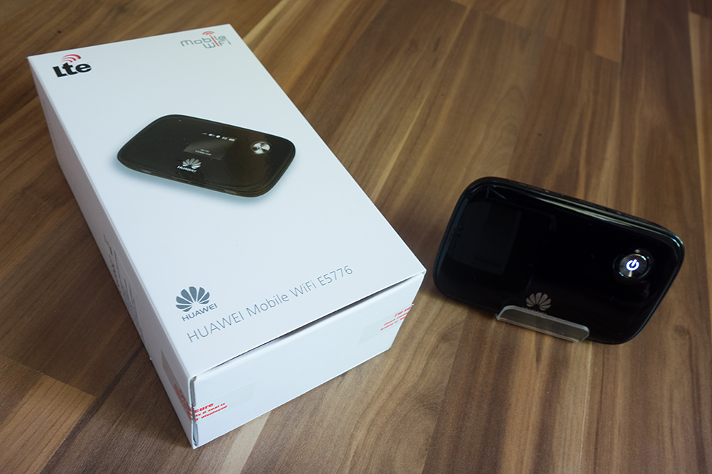 review huawei mifi e5776 mobiler umts hotspot und wlan. Black Bedroom Furniture Sets. Home Design Ideas