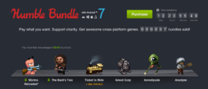 Humble Bundle with Android 7: Worms Reloaded, The Bard's Tale und mehr Spiele