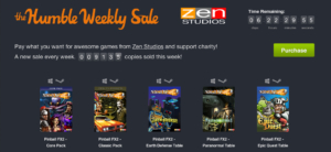 Humble Weekly Sale: Pinball FX2 wohin man schaut
