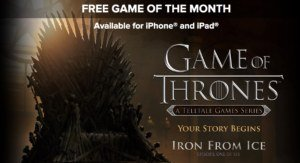 "IGN Free Game of the Month: ""Game of Thrones: Episode 1″ für iOS gratis"