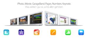 iWork- und iLife-Apps: Updates für die iOS- und Mac-Versionen, zukünftig kostenlos