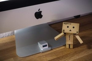 iMacompanion: USB-Anschluss des iMacs an die Vorderseite bringen