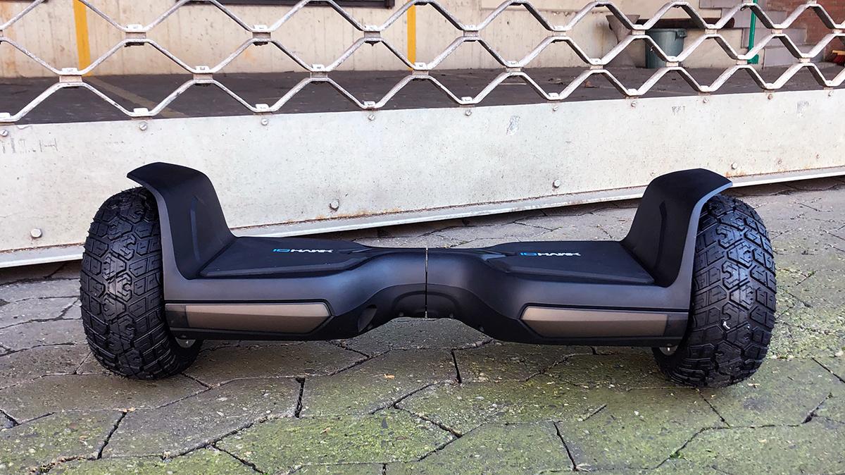 io hawk cross 2 0 im test spa iges offroad hoverboard am. Black Bedroom Furniture Sets. Home Design Ideas