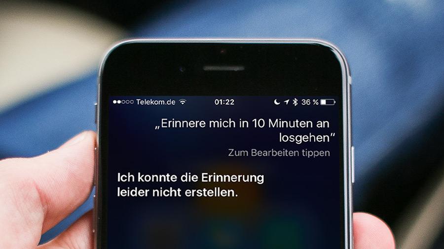 Ios Tipp Wenn Siri Keine Erinnerungen Mehr Erstellen Kann
