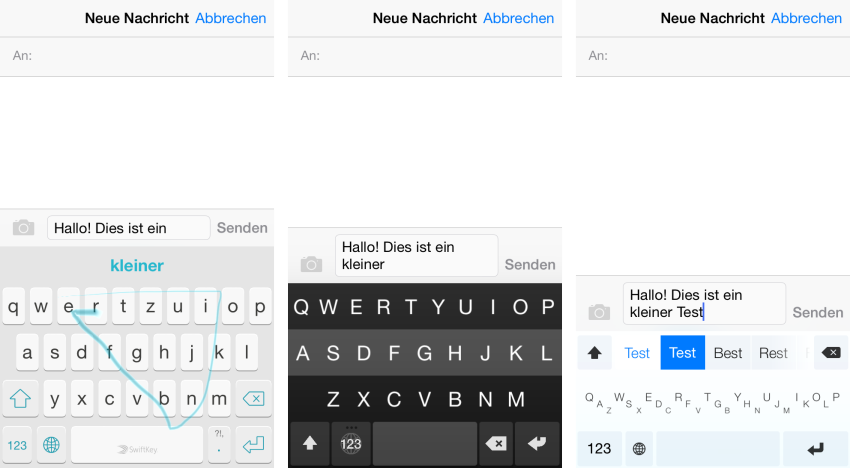 ios8tastaturen