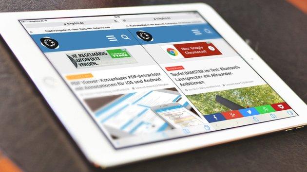Entfernungsmesser Mit Ipad : Ipad kurztipp zwei webseiten im safari nebeneinander anzeigen lassen
