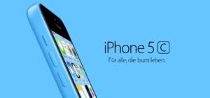 Apple stellt das iPhone 5C vor: Unibody-Kunststoffgehäuse in fünf Farben auf Basis des iPhone 5 ab 599€