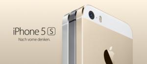 Das iPhone 5S mit Fingerabdrucksensor (Touch ID) und in neuer Farbe