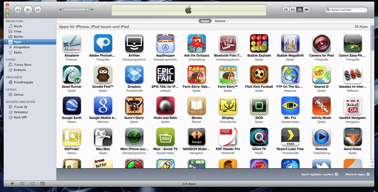 iTunes und Mac OS X: Mehrere Benutzer, identische Mediathek