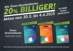 Günstige iTunes-Karten zu Ostern: 20% Rabatt bei LIDL, 15% bei real,-