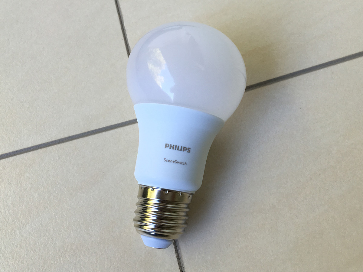 Quickie Philips Sceneswitch Die Smarte Dimmbare Led Birne Ohne