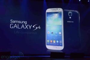 Samsung stellt das Galaxy S4 vor