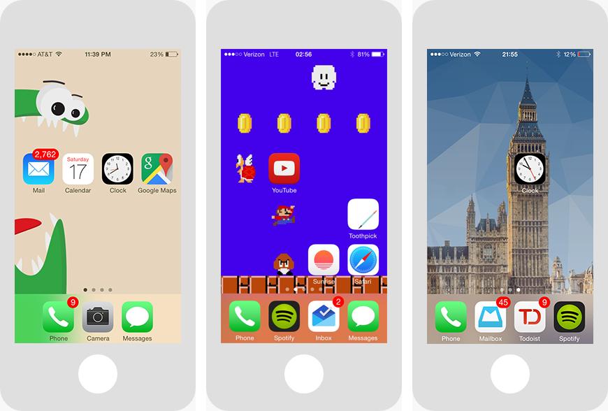 mach App unsichtbar iphone
