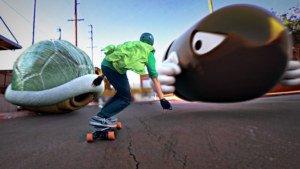 [Friday Fun] Hipster Luigi & Super Mario auf dem Longboard