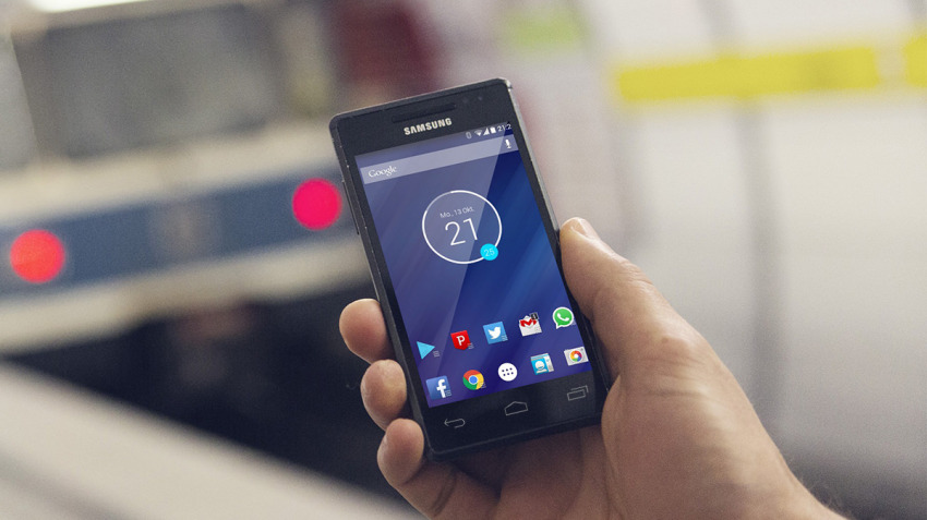minimal-clock-android