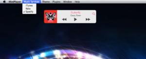 MiniPlayer for Mac: iTunes, Spotify und Rdio mittels kleiner App steuern