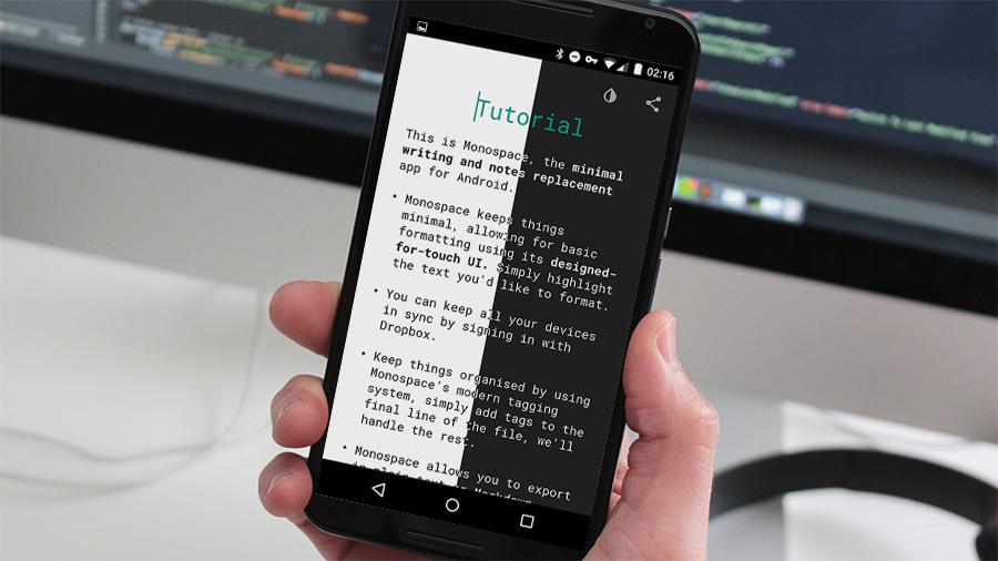monospace-android