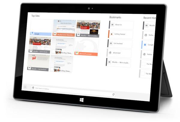 Mozilla firefox demo