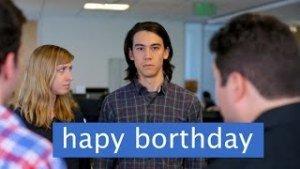 [Friday Fun] Im echten Leben wie auf Facebook zum Geburtstag gratulieren