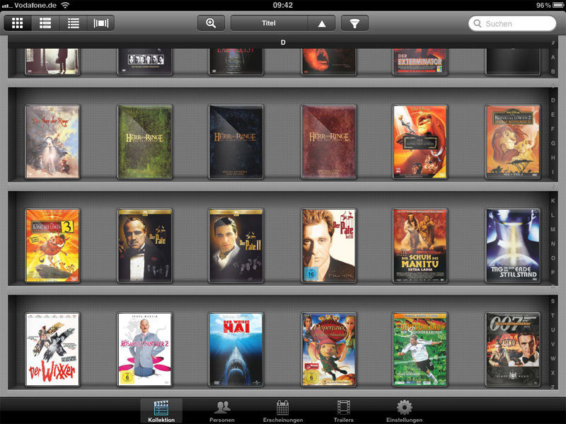 My Movies for iPad