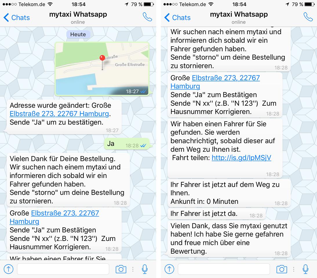 mytaxi-whatsapp