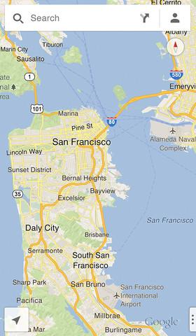 Google Maps für iOS veröffentlicht
