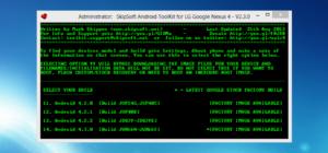 Update für das Nexus 4 Toolkit: Unlock und Root von Android 4.3