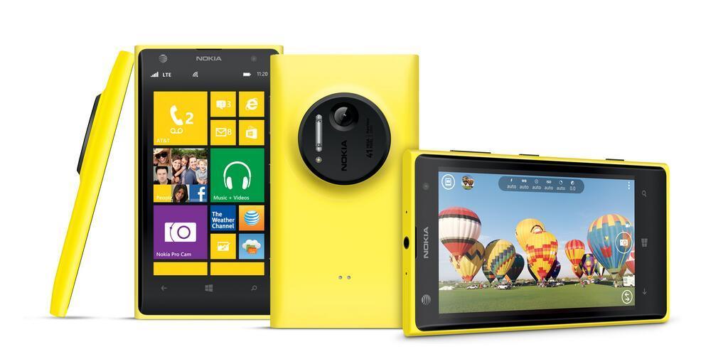 Nokia-Lumia-1020-Übersicht-Gelb