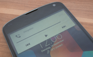 Noyze für Android hübscht das Lautstärke-Overlay auf
