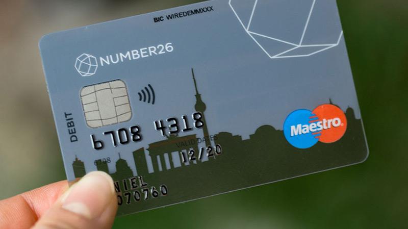 mobile banking number26 bietet ab sofort auch eine maestro karte an. Black Bedroom Furniture Sets. Home Design Ideas