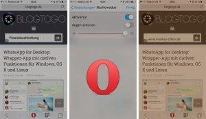 Opera Mini für iOS und Android erhält augenschonenden Nachtmodus