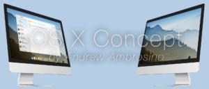 Alle guten Dinge sind drei: Ein weiteres Konzept zu Mac OS X im Stile von iOS 7