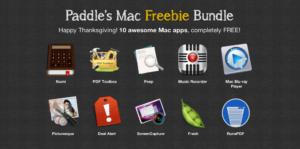 Paddle's Freebie Bundle: Zehn kostenlose Mac-Apps abgreifen