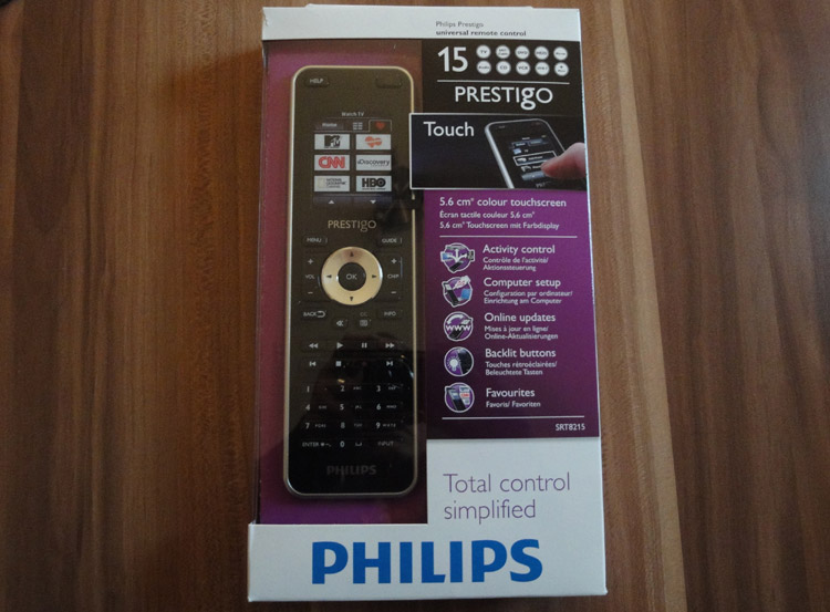 Philips Prestigo SRT 8215