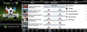 Pocket EM 2012: iOS-App rund um die Fußball Europameisterschaft