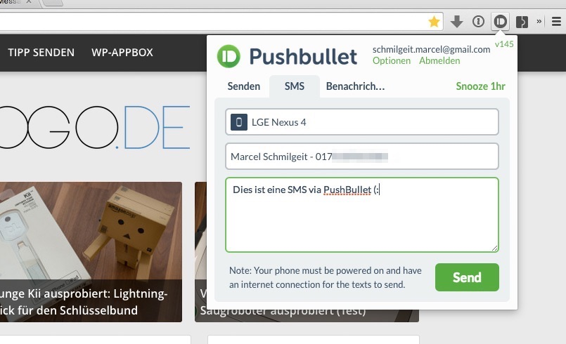 pushbullet-sms