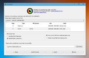 QPhotoRec für Windows: Gelöschte Dateien und Fotos wiederherstellen