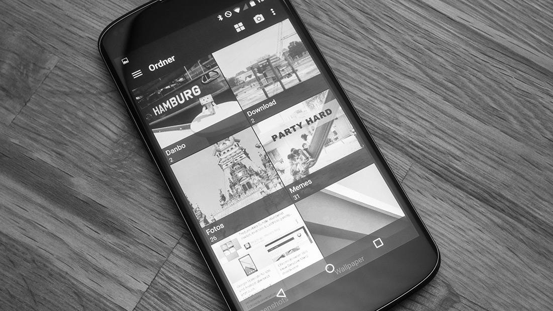 QuickPick für Android: Schicke Foto-App mit Cloud-Sync